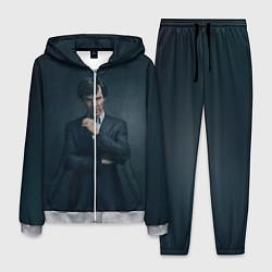 Костюм мужской Шерлок в костюме цвета 3D-меланж — фото 1