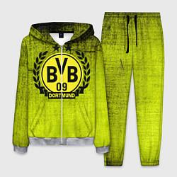 Костюм мужской Borussia5 цвета 3D-меланж — фото 1