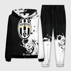 Костюм мужской Juventus4 цвета 3D-черный — фото 1