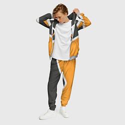 Костюм мужской Escape Gaming Uniform цвета 3D-меланж — фото 2