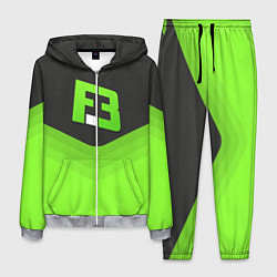 Костюм мужской FlipSid3 Uniform цвета 3D-меланж — фото 1