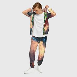 Костюм мужской Врэйт Кинг из Доты цвета 3D-белый — фото 2