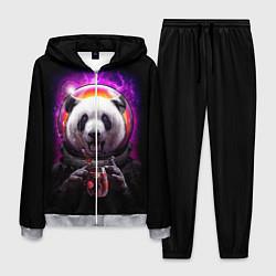 Костюм мужской Panda Cosmonaut цвета 3D-меланж — фото 1