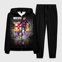 Костюм мужской Messi FCB цвета 3D-черный — фото 1