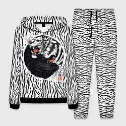Костюм мужской Yin Yang Tigers цвета 3D-черный — фото 1