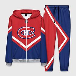 Костюм мужской NHL: Montreal Canadiens цвета 3D-меланж — фото 1