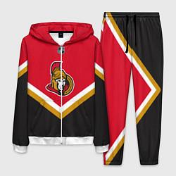 Костюм мужской NHL: Ottawa Senators цвета 3D-белый — фото 1