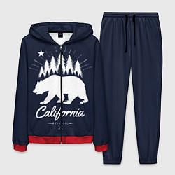 Костюм мужской California Republic цвета 3D-красный — фото 1