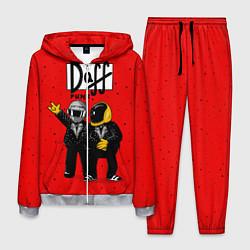 Костюм мужской Daff Punk цвета 3D-меланж — фото 1