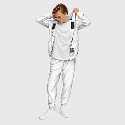 Костюм мужской Zoidberg цвета 3D-белый — фото 2