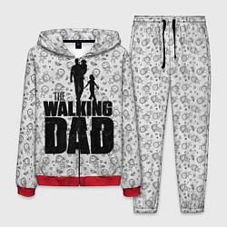 Костюм мужской Walking Dad цвета 3D-красный — фото 1