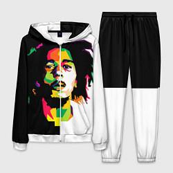 Костюм мужской Bob Marley: Colors цвета 3D-белый — фото 1