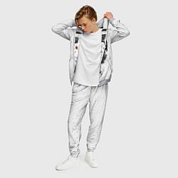 Костюм мужской Обезьяна в наушниках цвета 3D-меланж — фото 2