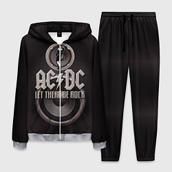 Костюм мужской AC/DC: Let there be rock цвета 3D-меланж — фото 1