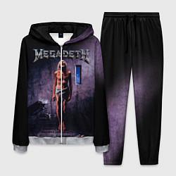 Костюм мужской Megadeth: Madness цвета 3D-меланж — фото 1