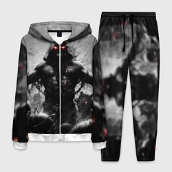 Костюм мужской Disturbed: Demon Rage цвета 3D-белый — фото 1