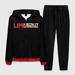 Костюм мужской Limp Bizkit цвета 3D-красный — фото 1