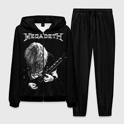 Костюм мужской Dave Mustaine цвета 3D-черный — фото 1