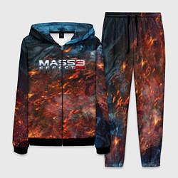 Костюм мужской Mass Effect 3: War цвета 3D-черный — фото 1