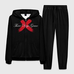 Костюм мужской Three Days Grace цвета 3D-черный — фото 1