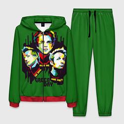 Костюм мужской Green Day: Trio цвета 3D-красный — фото 1