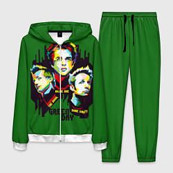 Костюм мужской Green Day: Trio цвета 3D-белый — фото 1