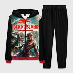 Костюм мужской Dead Island цвета 3D-красный — фото 1