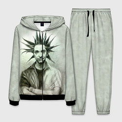 Костюм мужской Горшенёв панк цвета 3D-черный — фото 1