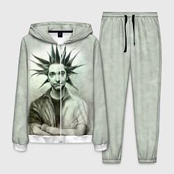 Костюм мужской Горшенёв панк цвета 3D-белый — фото 1
