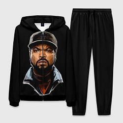 Костюм мужской Ice Cube цвета 3D-черный — фото 1