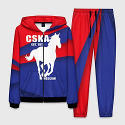 Костюм мужской CSKA est. 1911 цвета 3D-черный — фото 1