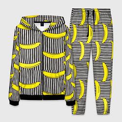 Костюм мужской Bananas Lines цвета 3D-черный — фото 1