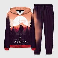 Костюм мужской The Legend of Zelda цвета 3D-красный — фото 1
