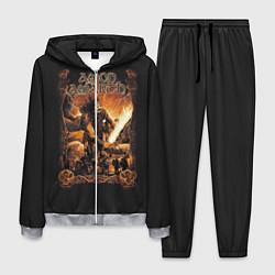 Костюм мужской Amon Amarth: Dark warrior цвета 3D-меланж — фото 1