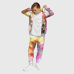 Костюм мужской Coldplay цвета 3D-меланж — фото 2