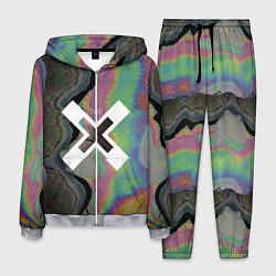Костюм мужской The XX: Neon Colour цвета 3D-меланж — фото 1