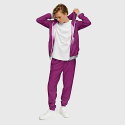 Костюм мужской The XX: Purple цвета 3D-меланж — фото 2