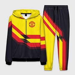 Костюм мужской Man United FC: Yellow style цвета 3D-черный — фото 1