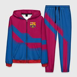 Костюм мужской Barcelona FC: Blue style цвета 3D-красный — фото 1