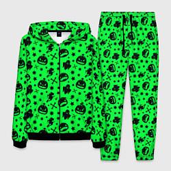 Костюм мужской Хэллоуин кислота цвета 3D-черный — фото 1