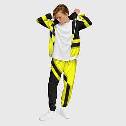 Костюм мужской BVB FC: Yellow style цвета 3D-белый — фото 2
