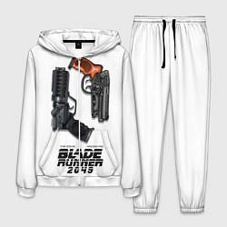 Костюм мужской Blade Runner 2049: Weapon цвета 3D-белый — фото 1