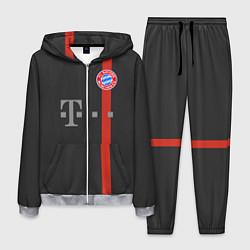 Костюм мужской Bayern FC: Black 2018 цвета 3D-меланж — фото 1