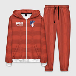 Костюм мужской Atletico Madrid: Red Ellipse цвета 3D-белый — фото 1