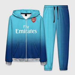 Костюм мужской Arsenal FC: Blue Away 17/18 цвета 3D-меланж — фото 1