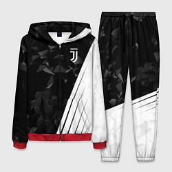 Костюм мужской FC Juventus: Abstract цвета 3D-красный — фото 1
