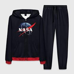Костюм мужской NASA: Black Space цвета 3D-красный — фото 1