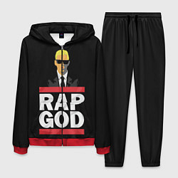 Костюм мужской Rap God Eminem цвета 3D-красный — фото 1
