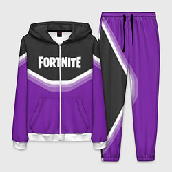 Костюм мужской Fortnite Violet цвета 3D-белый — фото 1