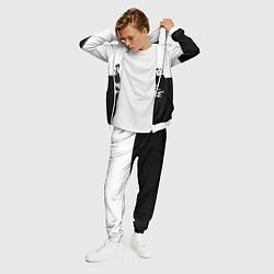 Костюм мужской My Chemical Romance B&W цвета 3D-белый — фото 2